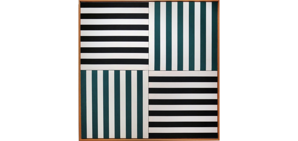 Diafragma Tres Stripes Twelve Grey (S), Green (W), Grey (N), Green (E)